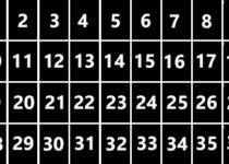 Esquema 4 x 9 -TAROT LENORMAND
