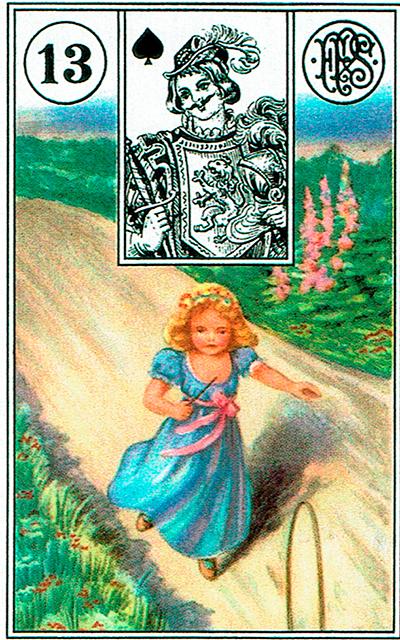 La Niña - Lenormand Tarot