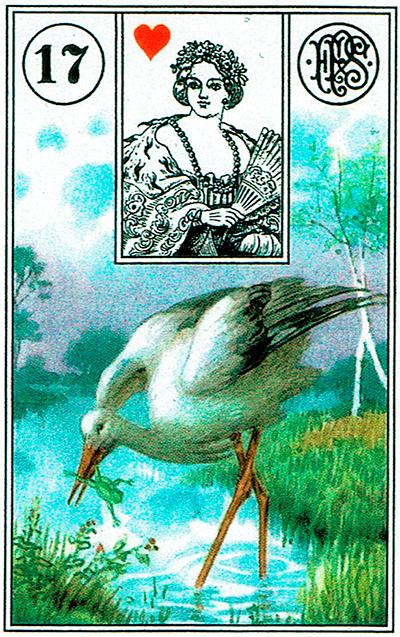 La Cigüeña - Lenormand Tarot