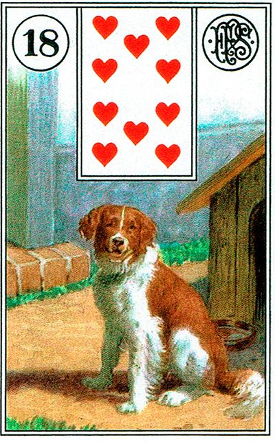 El Perro - Lenormand Tarot