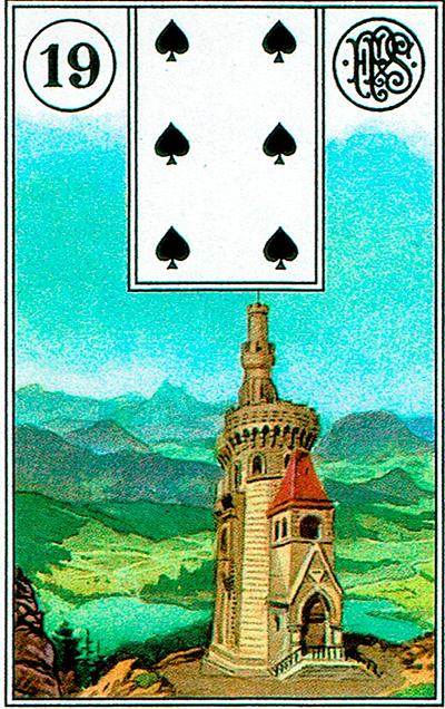 La Torre - Lenormand Tarot