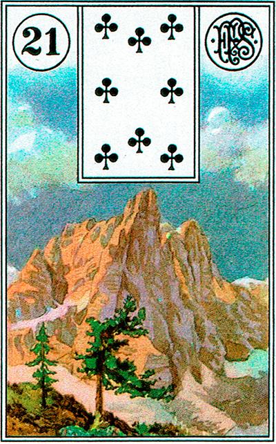 La Montaña - Lenormand Tarot