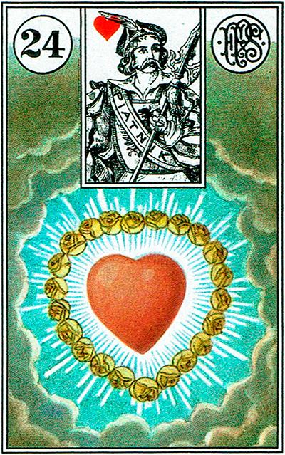 El Corazón - Lenormand Tarot