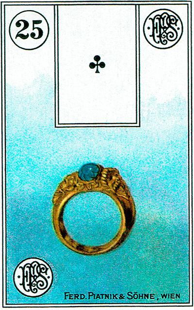 El Anillo - Lenormand Tarot