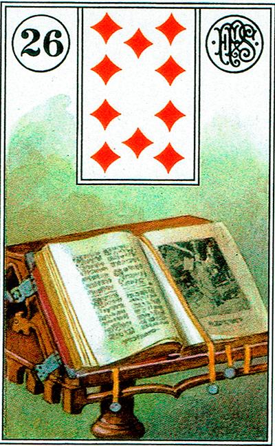El Libro - Lenormand Tarot