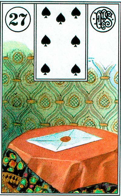 La Carta - Lenormand Tarot