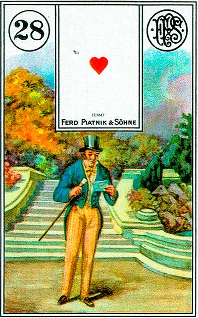 El Caballero - Lenormand Tarot