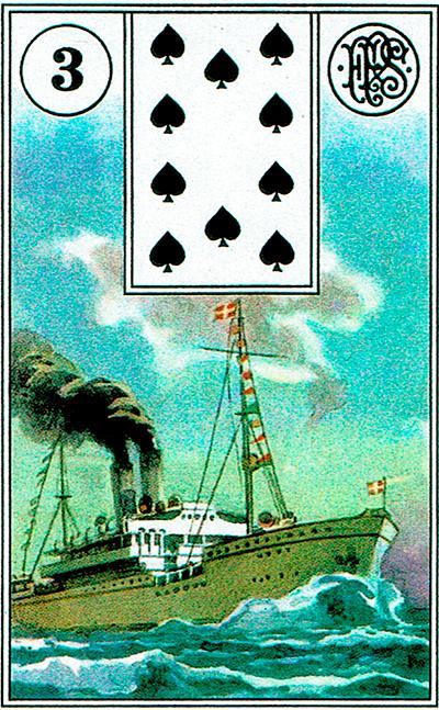 El Barco - Lenormand Tarot