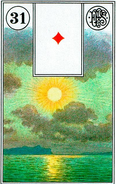 El Sol - Lenormand Tarot