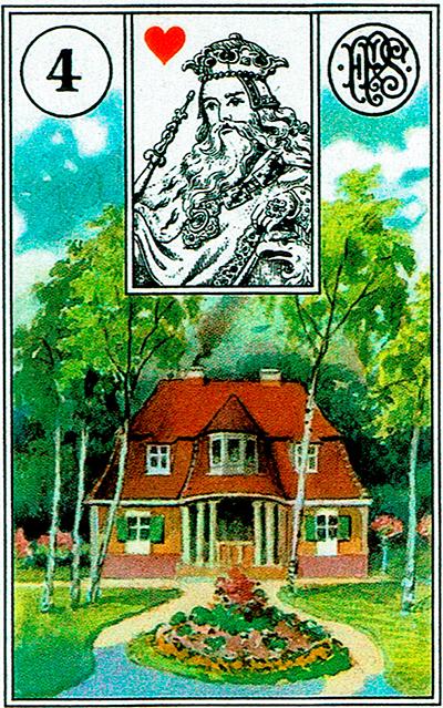 La Casa - Lenormand Tarot