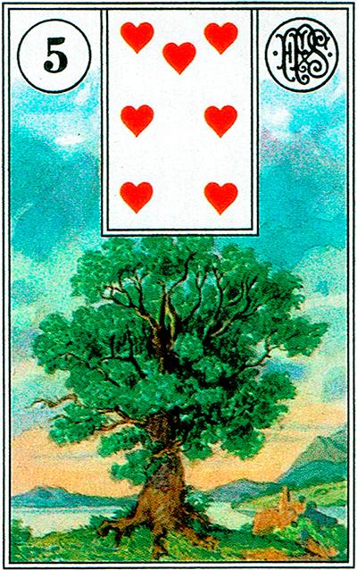 El Árbol - Lenormand Tarot
