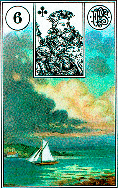 Las Nubes - Lenormand Tarot